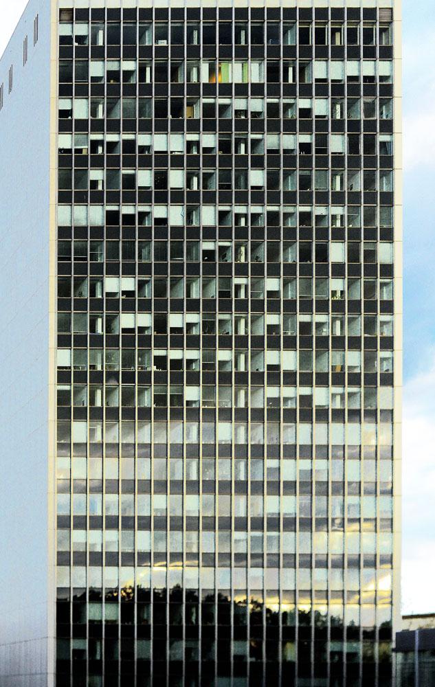 hochhaus-karlsruhe -architektur