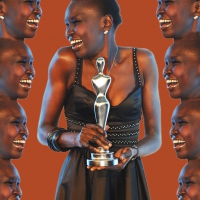 alek wek enjoys winning the gala spa awards