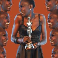 alek wek enjoys winning the gala spa awards