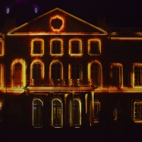 schloss illumination
