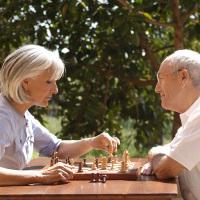 schach-konzentration