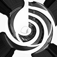 popart architekturfotografie in grautoenen