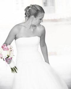 Hochzeitsfotografie von der Braut