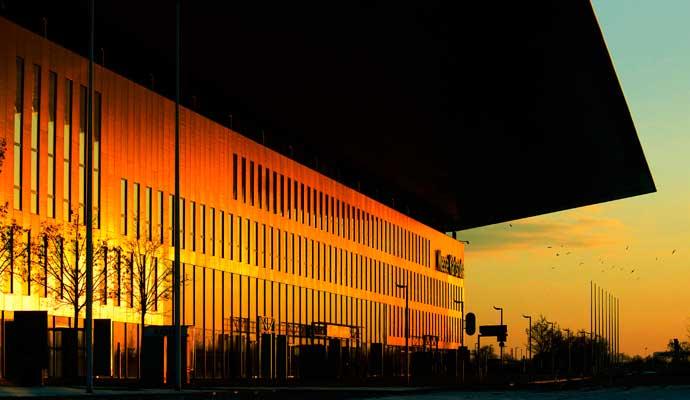 Architekturfotografie Karlsruhe Neue Messe